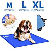 Shinyee 2020 Dog Cooling Mat Cool Non-toxic Gel Cooling Pad for People Dogs