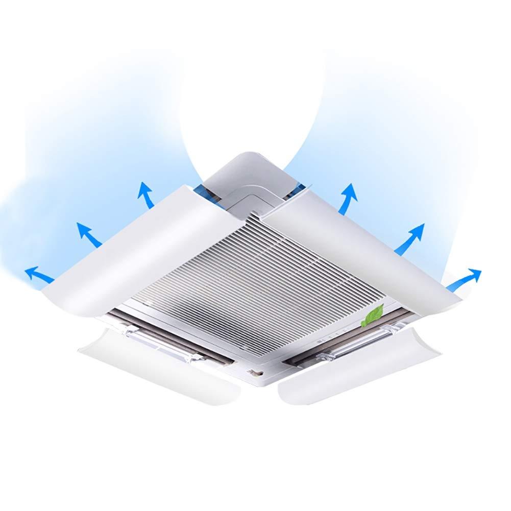 Aire Acondicionado Central Deflector De Viento Campana Deflector Universal Anti Direct Soplado Techo Máquina Deflector De Salida (Paquete De 4): Amazon.es: Hogar