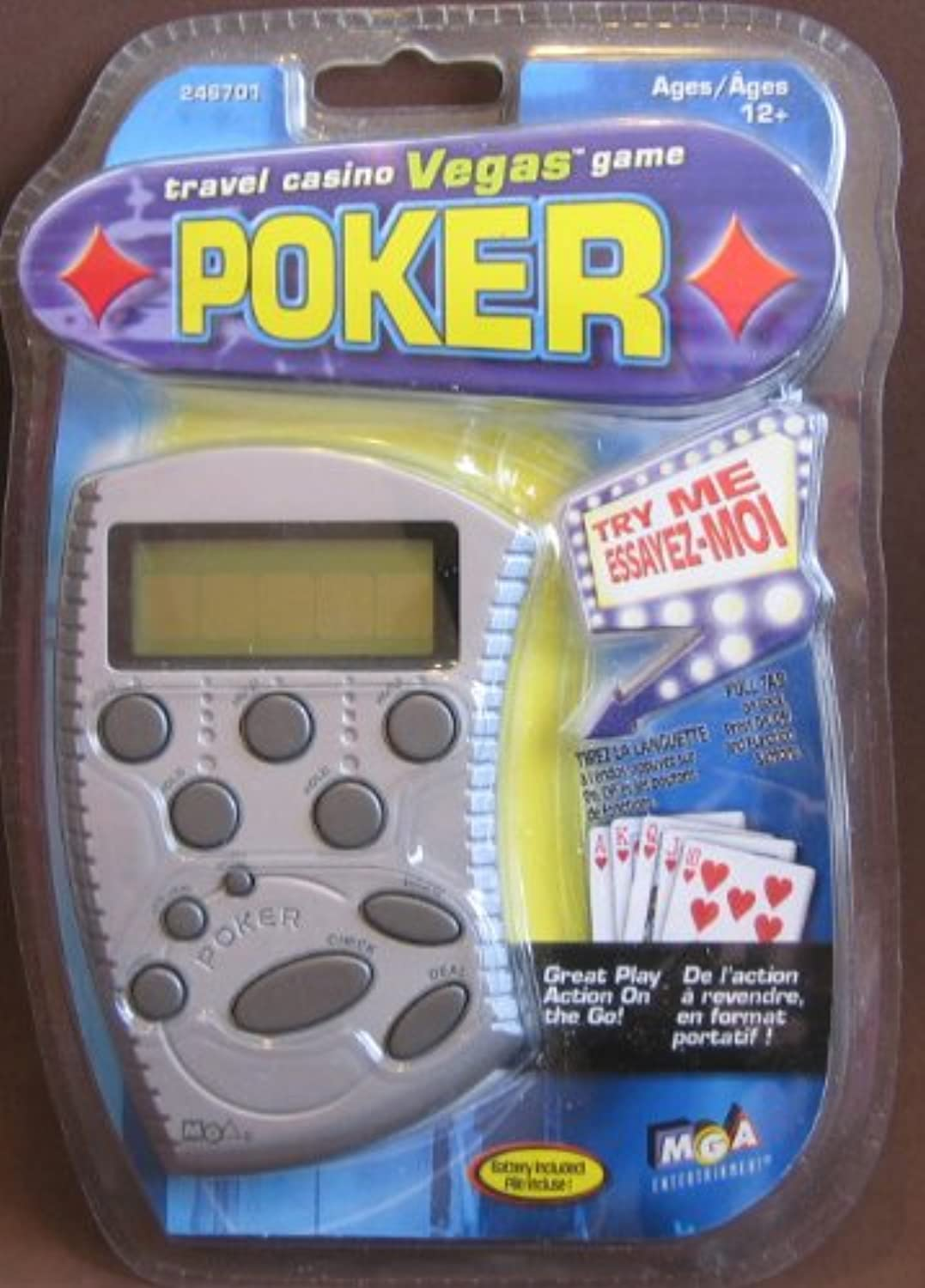 Travel Vegas(TM) Poker Handheld Game (246701)