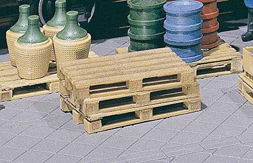 POLA 333201–4 Palettes, Accessoires pour Le modèle ferroviaire, modèle Construction