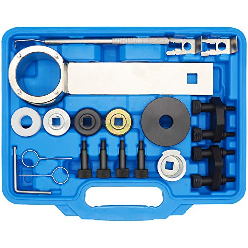 HEDWETO Engine Timing Tool Kit Compatible with VW/Audi Skoda VAG 1.8 2.0 TSI TFSI EA888 Engine T10352 T40196 T40271 T10368 T10354, with T10355 Crankshaft Holding Wrench