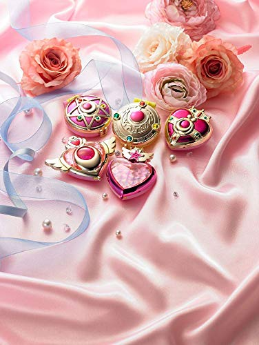 Bandai Sailor Moon Sailor Moon Compact Mirror Deluxe Set 5 Specchietti per Adulti, 31671