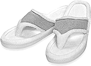Elizabeth Arden Ultimate Spa Memory Foam Slippers (Small, Grey)