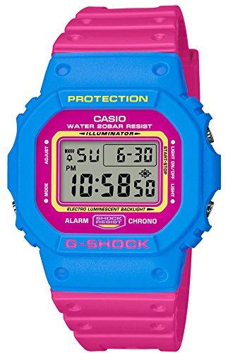 [カシオ] 腕時計 ジーショック THROW BACK 1983 DW-5600TB-4BJF メンズ ピンク