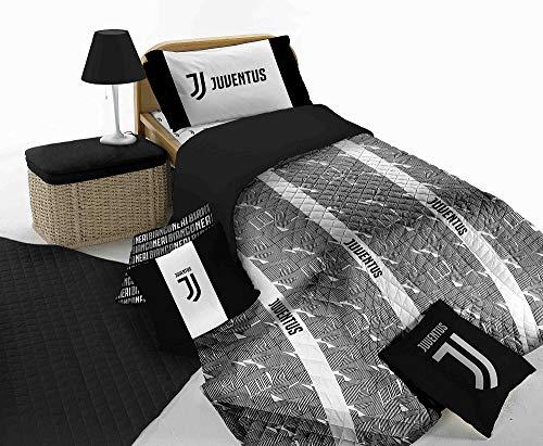 Juventus Bettwäsche-Set für Einzelbett, offizielles Produkt