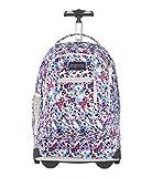 JanSport Driver 8 Wheeled Backpack - 15-inch Laptop Bag, Petal to The Metal