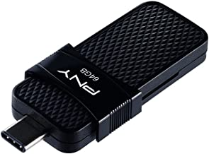 PNY Duo Link OTG Type-C Drive, Up to 130MB/S 64GB