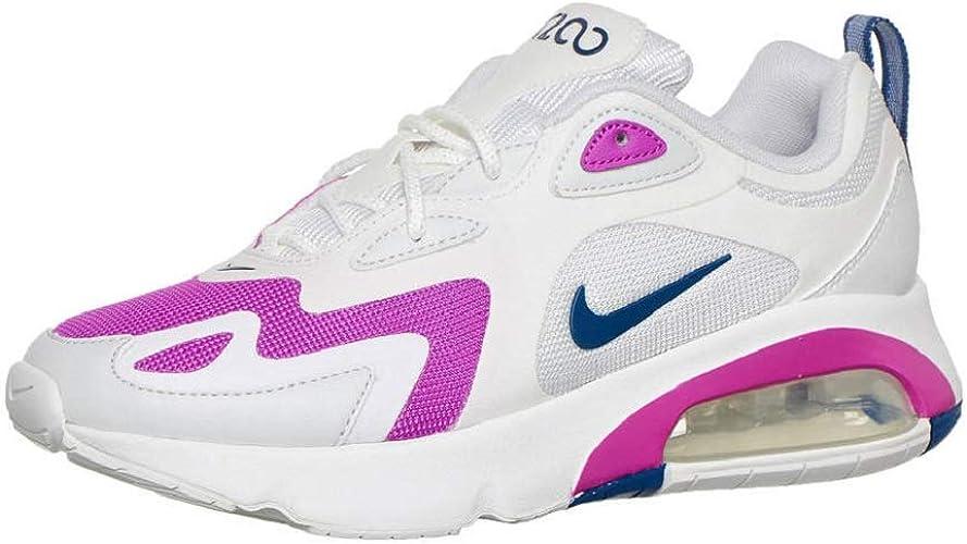 Nike Air Max 200 - Sneaker da donna, Bianco (bianco), 40 EU ...
