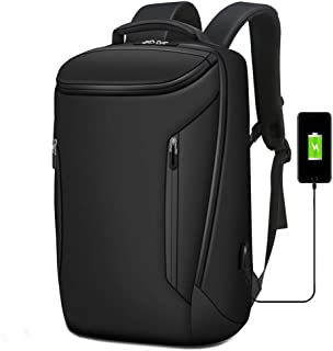 Travel Laptop Backpack,Water Resistant Business Backpack with USB Charging Port,School Bag for Boys Fits 15.6 Inch Computer Notebook Daypack for Work, Hiking Travel Camping College Men Women