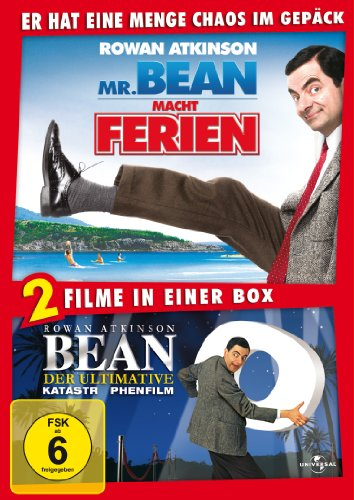Bean - Der ultimative Katastrophenfilm / Mr. Bean macht Ferien [2 DVDs]