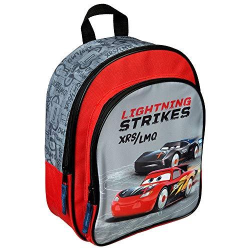 Disney Cars Kinderrucksack mit Vordertasche I Kindergartentasche im angesagten Cars Design