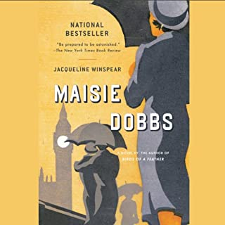 Maisie Dobbs audiobook cover art