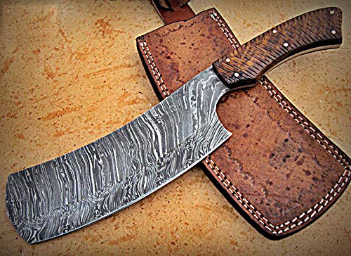 RK- CP-285, Damascus Steel 12.00 Inches Cleaver style Knife