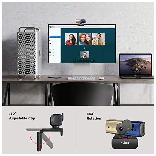 C905 Autoenfoque Webcam con Micrófono, Full HD 1080P/ 30 fps con Cubierta de Privacidad, Cámara Web USB para PC… 4