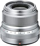Advanced image quality - ten elements in six groups, including two aspherical elements for edge-to-edge sharpness. At just 180g, the XF23mmF2 R WR is compact, lightweight, and stylish for great operability Weather and dust resistant, capable of opera...
