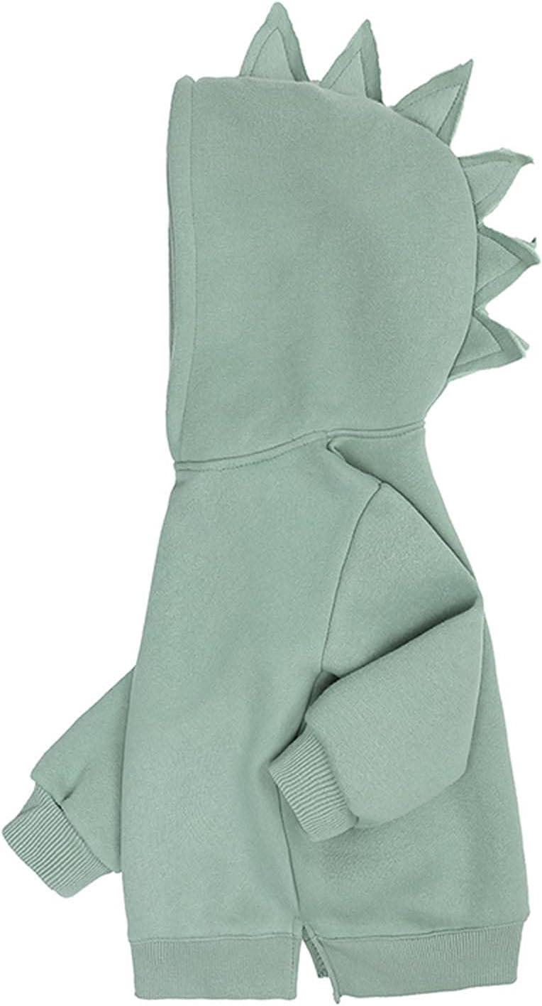 Spring Daily bargain sale Kids Hoodies- Children'S Jacket Sweater T discount Fleece Dinosaur