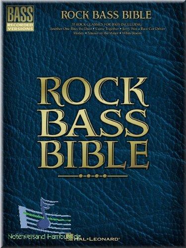 Rock Bass Bible Partitions de guitare basse [Notes de musique]