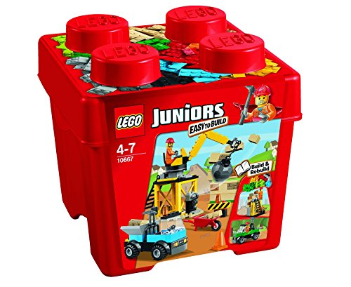LEGO Juniors - Set de 4 Ladrillos creativos, Multicolor (10667)