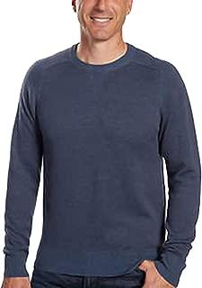 Mens Extra Fine Merino Wool and Pima Cotton Sweater