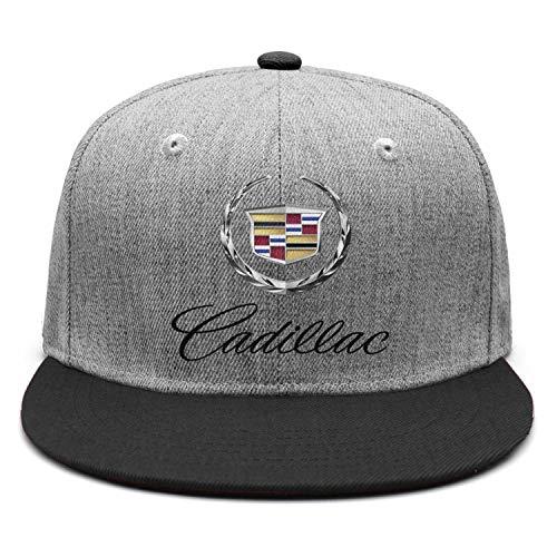 Breathable Cadillac-Emblem-Symbol-Logo- Black Summer hat Womens Mens