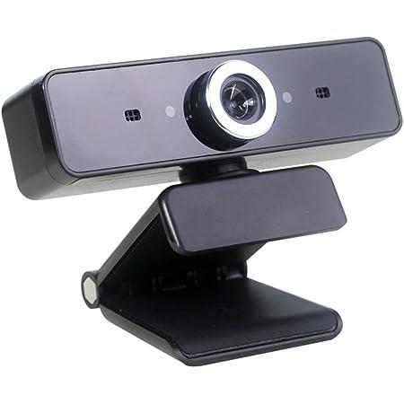 Aibecy ウェブカメラ Webカメラ PCラップトップ デスクトップ マイク付き 無指向性吸音 360度回転 光補正 ビデオ通話 在宅勤務 動画配信 ゲーム実況 ネット授業 録画 skype会議用PCカメラ