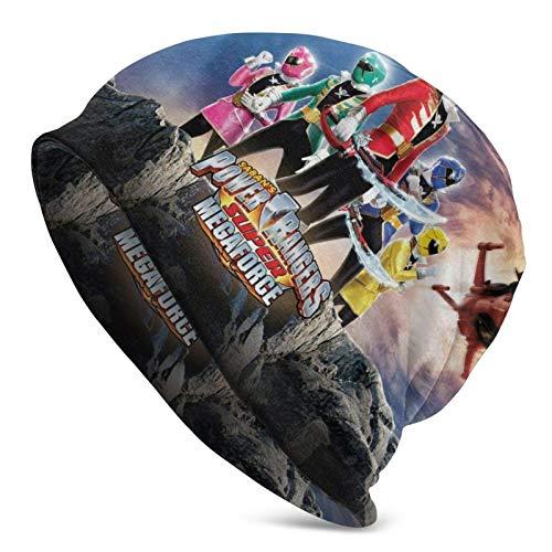 Bonnet Beanie Homme Femme Power Rangers Crâne À Revers Bonnet Élastique Chapeau Bonnet Moderne Classics Basic Beanie Respirant Slouch Calotte