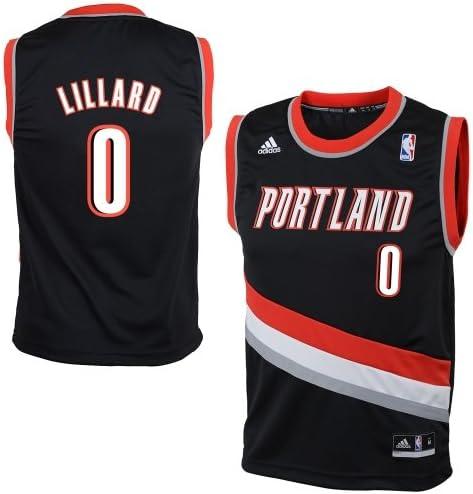 Amazon.com: Preschool Portland Trail Blazers Damian Lillard adidas ...