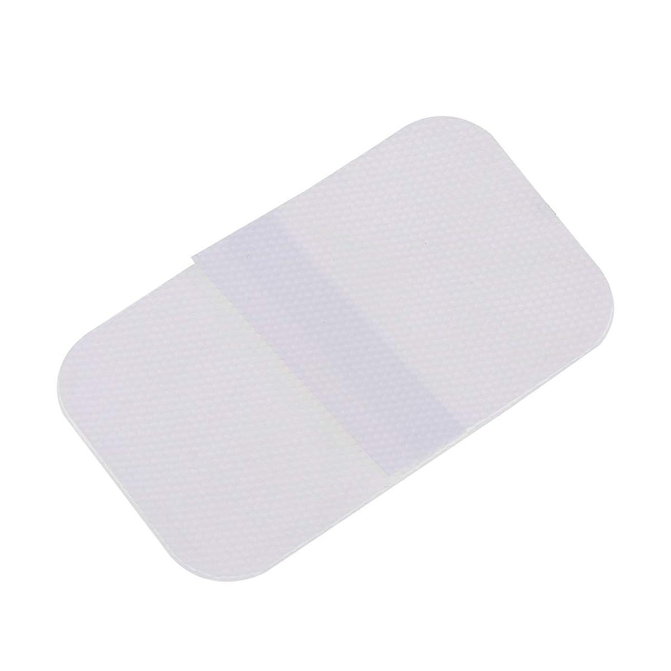 名前測定可能差別的LIOOBO シリコーン傷跡シート傷跡シリコーンテープ洗える帝王切開透明傷跡ステッカー正方形シェイプシリコーン傷跡治療