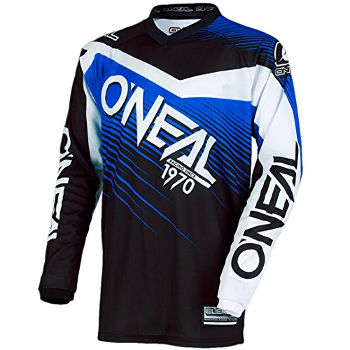 O\'NEAL Element Racewear FR Jersey Trikot lang schwarz/blau 2018 Oneal: Größe: M (48/50)