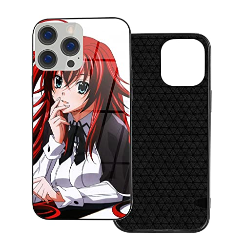 Anime Rias Gremory High School DXD iPhone 12 Glass Case Shockproof for Anime Japanese IP12Pro MAX-6.7