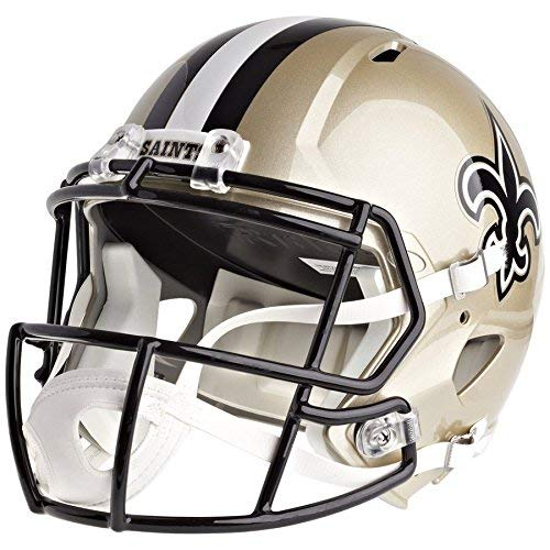 Riddell New Orleans Saints Officially Licensed Speed Full Size Replica Football Helmet