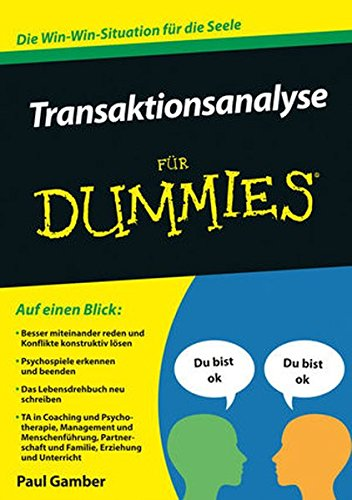 Transaktionsanalyse für Dummies