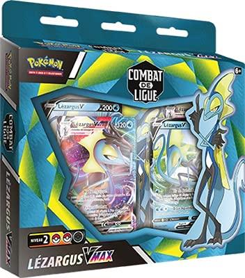 Pokemon Deck Combat de Ligue Lézargus V-Max