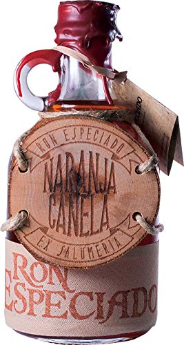 Ron Especiado Naranja y Canela (Orange/Zimt) - Spiced Rum - 1 x 0.50l - inkl. Geschenkverpackung & Cocktailvorschlag