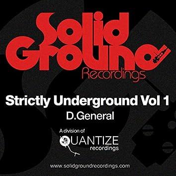 Strictly Underground Vol 1
