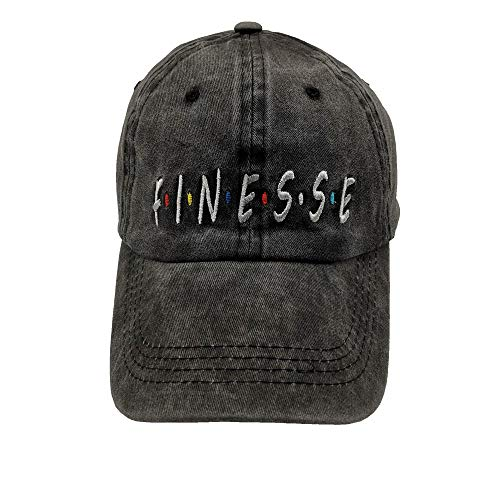 Waldeal Men's Finesse Embroidered Washed Adjustable Baseball Cap for Dad Hat
