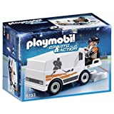 PLAYMOBIL - Sports & Action Pulidora de Hielo Playsets de Figuras de jugete, Color Multicolor (6193)