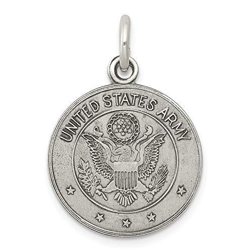 Saris and Things sterlingsilber 925 us-Armee-Medaille