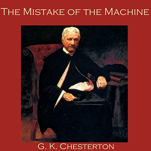 The Mistake of the Machine audiobook cover art