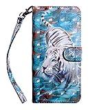 ShinyCase Étui Samsung Galaxy M20/SM-M205F 6.3' Coque 3D PU Cuir Housse de Protection Flip Case...