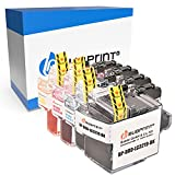 4 Bubprint Cartuchos de Tinta Compatible para Brother LC-3219XL para MFC-J5330DW MFC-J5335DW MFC-J5730DW MFC-J5930DW MFC-J6530DW MFC-J6535DW MFC-J6930DW MFC-J6935DW