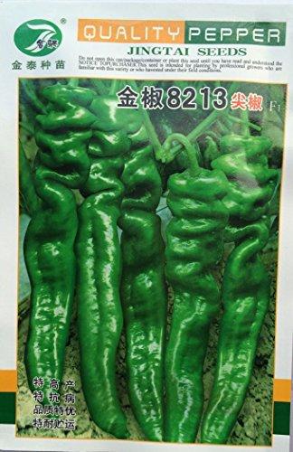 Géant Graines de poivre Marconi Peppers bricolage jardin de légumes usine 200 particules / lot Emballage professionnel