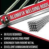 10Pcs Super Melt Flux Cored Aluminum Solución fácil...