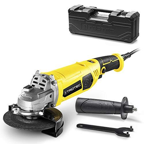 TROTEC Smerigliatrice angolare PAGS 11-125 - separare, smerigliare e spazzolare metalli e per tagliare mattonelle e blocchi di calcestruzzo - 3.000 a 12.000 giri/min
