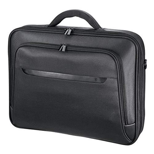 Hama Notebooktasche Miami Life für Laptop / Tablet mit Bildschirmdiagonale 15,6 Zoll / 40 cm, Laptoptasche schwarz