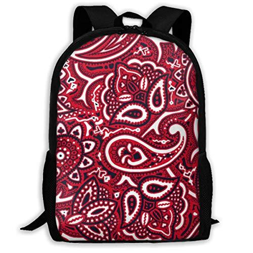 Schultasche Paisley Bandana Interest Print Langlebig Lässig Einzigartige College-Tasche Daypack Geburtstagsgeschenk Travel School Backpack Custom Bookbag