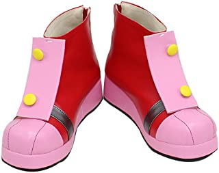 Amy Rose The Hedgehog Pink Cosplay Shoes X002
