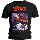 Dio Men's Holy Diver Slim Fit T-Shirt X-Large Black