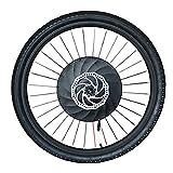 Bicicleta De La Rueda Delantera Kit De Conversión Con La Batería, 36v 240w Potencia 40 Km / H 20' 24' 26' 27,5' Kit Bicicleta Eléctrica 29' Conversión 700C ( Color : Disc APP control , Size : 29 in )