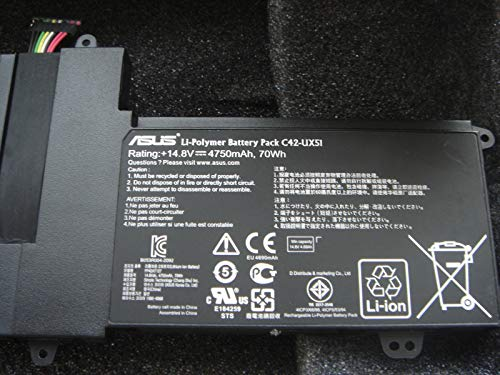 Batterie d'origine ASUS C42-UX51 UX51V UX51VZ BX51 BX51V Genuine